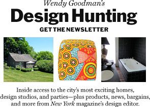 Wendy Goodman's Design Hunting